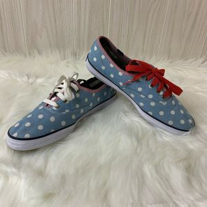 Taylor Swift Keds Denim and Dots Size 7.5